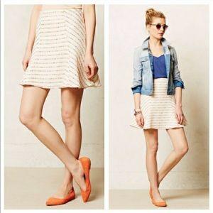 Anthropologie Maeve Lucaya Sweater Skirt